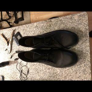 All Black Clarks Desert Boot Size 14